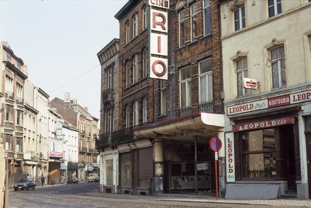 1983-04 Ciné Rio, 311 chaussée de Wavre, Etterbeek